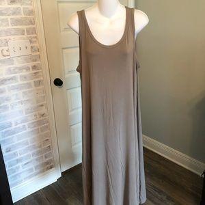 Cotton/Modal Knit Dress